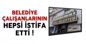 Suruç Belediyesi'nde Çalışan 110 Kişi İstifa Etti !