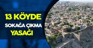 Terör Operasyonları Nedeniyle Diyarbakır' da Sokağa Çıkma Yasağı
