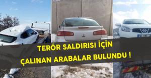 Terör Saldırısı İçin Çalınan Araçlar Bulundu