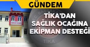 TİKA'dan Karadağ'daki Sağlık Ocağına Ekipman Desteği