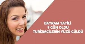 Turizmciler için 9 Günlük Bayram Tatili Müjdesi