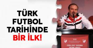 Türk Futbol Tarihinde Bir İlk!