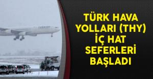 Türk Hava Yolları (THY) İç Hat Seferleri Başladı