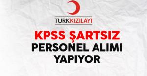Türk Kızılayı Personel Alımı Yapıyor ! Başvurular Devam Ediyor
