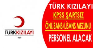 Türk Kızılayı Personel Alımları Yapıyor
