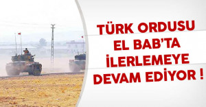Türk Ordusu El Bab'ta İlerlemeye Devam Ediyor