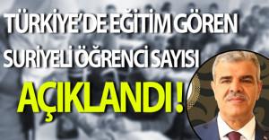 Türkiye'de Eğitim Gören Suriyeli Öğrenci Sayısı Açıklandı