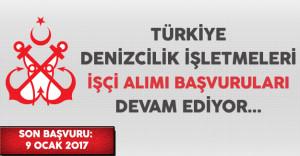 Türkiye Denizcilik İşletmeleri (TDİ) İşçi Alımı Başvuruları Devam Ediyor