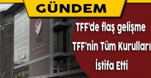 Türkiye Futbol Federasyonunun Tüm Kurulları İstifa Etti