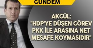 """USTAD Başkanı Akgül: """"HDP'ye düşen görev PKK ile arasına net mesafe koymasıdır"""""""