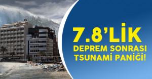 Yeni Zelanda'da Tsunami Paniği!