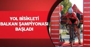 Yol Bisikleti Balkan Şampiyonası başladı