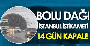 Yola Çıkacaklar Dikkat: TEM' in Bolu Dağı-İstanbul İstikameti 14 Gün Boyunca Kapalı Olacak!