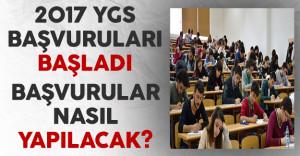 Yükseköğretime Geçiş Sınavı (YGS) Başvuruları Başladı! Başvurular Nasıl Yapılacak?