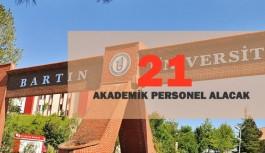 Bartın Üniversitesi 21 Akademik Personel Alımı Gerçekleştirecek