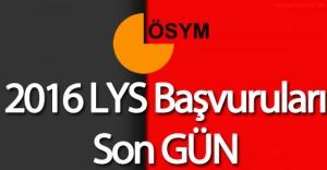 LYS Başvuruları Sona Eriyor (2016-LYS Sınav Başvuru Ücreti İçin Son Tarih ve Tüm Detaylar)