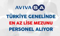 AVIVASA Emeklilik Türkiye Genelinde En Az Lise Mezunu Personel Alıyor