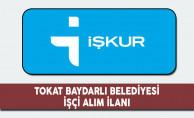 Tokat Baydarlı Belediyesi İşçi Alım İlanı
