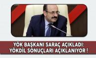 YÖK Başkanı Saraç Açıkladı: YÖKDİL Sonuçları Açıklanıyor!