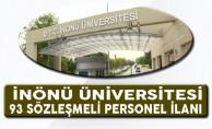 İnönü Üniversitesi 93 Sözleşmeli Personel Alacağını Duyurdu