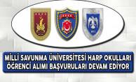 Milli Savunma Üniversitesi Harp Okulları Öğrenci Alımı Başvuruları Devam Ediyor