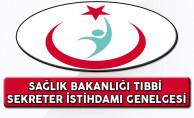 Sağlık Bakanlığı Tıbbi Sekreteri İstihdamına İlişkin Genelge Yayımlandı