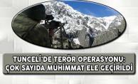 Tunceli'de PKK Operasyonu: Çok Sayıda Mühimmat Ele Geçirildi