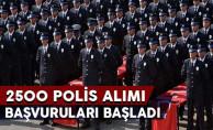 PAEM 2 Bin 500 Lise Mezunu Polis Alımı Başvuruları Başladı