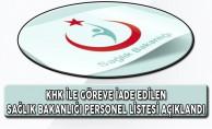 Sağlık Bakanlığı 689. KHK İle Göreve İade Edilenlerin Listesi Açıklandı