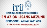 İstanbul Teknik Üniversitesi Personel Alımı Başvurularında Son Gün