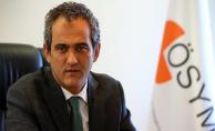 ÖSYM Başkanından Yeni Sınav Sistemine İlişkin Açıklama