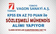 TÜVASAŞ Sözleşmeli Personel Alım İlanı DPB'de Yayımlandı