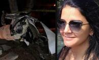 Konya Karapınar'da aracıyla ağaca çarpan öğretmen feci şekilde can verdi