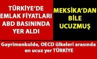 OECD ülkeleri arasında en ucuz evler Türkiye'de