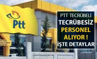 PTT Tecrübesiz Personel Alıyor ! İşte Başvuru Ekranı