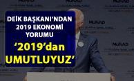 DEİK Başkanı Nail Olpak, 2019 ekonomi yorumu