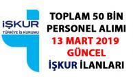 İŞKUR güncel iş ilanları! 50 bin işçi-memur alımı ilanları yayımlandı