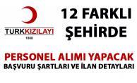 Kızılay personel alımı yapıyor! Kızılay yeni iş ilanları yayımladı!
