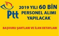 PTT personel alımı başvurusu ne zaman? 2019 personel alımı başvuru detayları