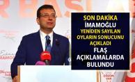 Ekrem İmamoğlu Son dakika olarak açıkladı! İstanbul Büyükşehir yerel seçim sonuçları!