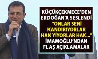 İmamoğlu'ndan Cumhurbaşkanı Erdoğan'a flaş sözler!