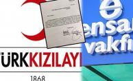 Kızılay'ın Ensar Vakfı'na 7 milyon 925 bin dolar para aktardığı ortaya çıktı!