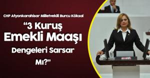CHP Milletvekili Köksal'dan 'Emeklilikte Yaşa Takılanlar' Sitemi