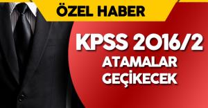 DPB, KPSS 2016-2 Yerleştirme Takviminde Değişiklik Yapacak