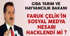 Gıda Tarım ve Hayvancılık Bakanı Çelik'in Twitter Hesabı Hacklendi Mi ? ( Çok İlginç Paylaşımlarda Bulunuluyor)