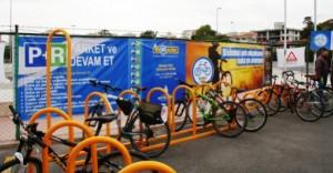 Metroda Ücretsiz Bisiklet Parkı