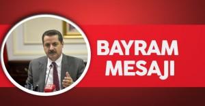 Tarım Bakanı Çelik'ten Bayram Mesajı
