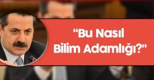 """Tarım Bakanı Faruk Çelik: """"Bu Nasıl Bilim Adamlığı?"""""""