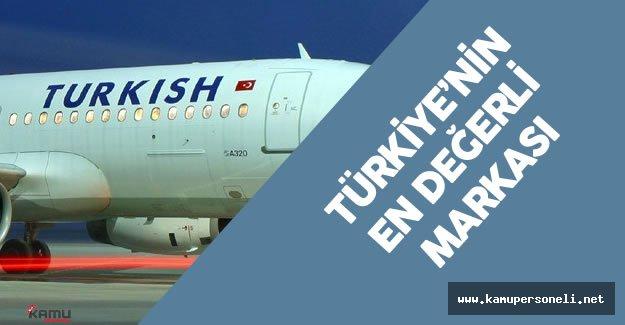 THY Türkiye'nin En Değerli Markası
