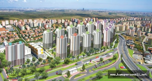 TOKİ'den Başakşehir'e 2 Bin 512 Konutluk Dev Proje